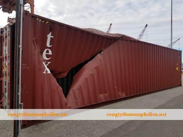 Thu mua container phế liệu giá cao